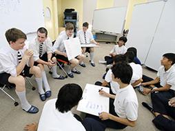 ニュージーランドの姉妹校からの留学生と 国際交流授業を実施