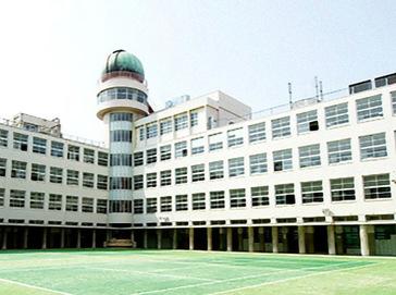 上宮中学校外観
