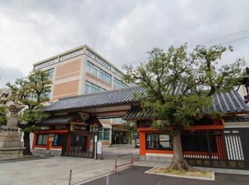 四天王寺中学校外観
