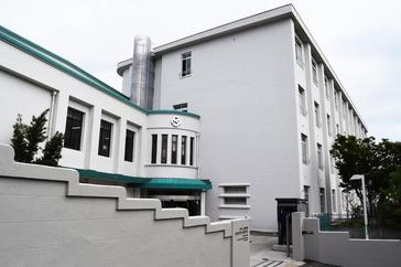 夙川中学校外観